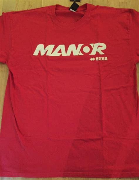 Kaos Manor Racing T Shirt Haryanto F1 manor f1 team t shirt f1store usa