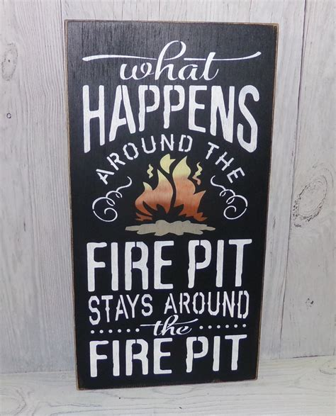 pit sign what happens around the by