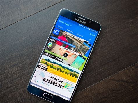 Samsung App Store How To Use Samsung Galaxy Apps The Samsung App Store Android Central