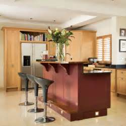 kitchen designs with islands and bars kitchen with split level island unit kitchen design housetohome co uk
