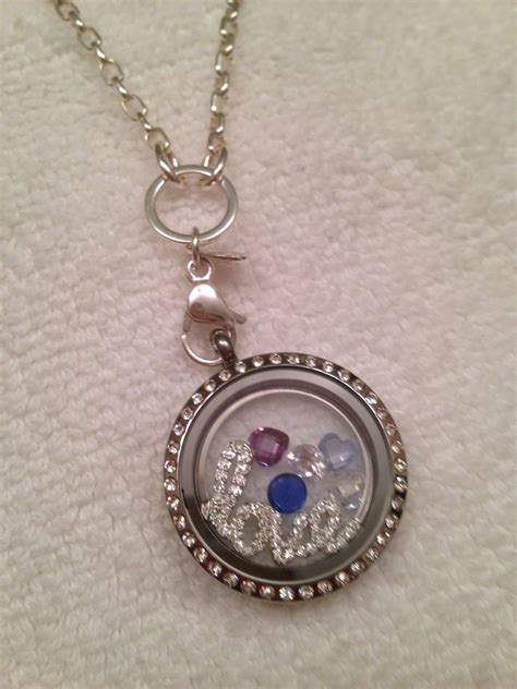 Origami Owl Charm Necklace - origami owl necklace origami owl
