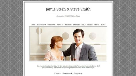 Wedding Photo Website by Create A Beautiful Wedding Website With These 6 Services