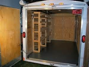 enclosed trailer shelving ideas cargo cer trailers ehow ehow how to