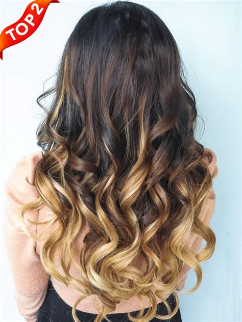 blonde ombre hair weave brown blonde ombre indian remy clip in hair extensions