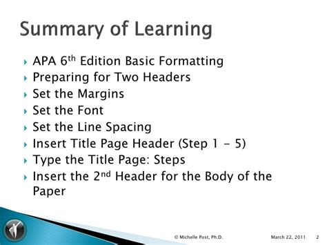 word template apa 6th edition apa 6th ed ms word 2007 template tutorial v1