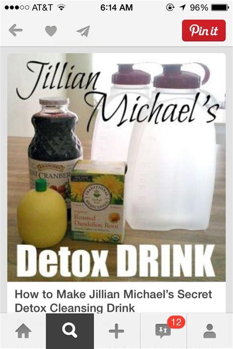 How To Make Jillian Michael Detox by Jillian Michael S Detox Drink Trusper
