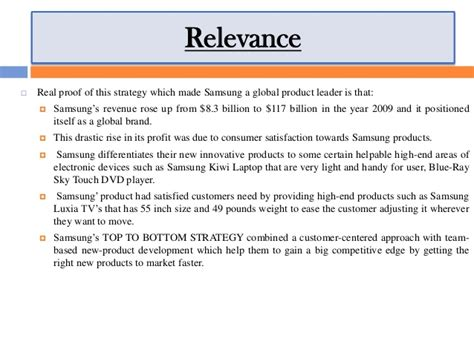 Samsung Mba Project by Project On Brand Asset Valuator Model Of Samsung