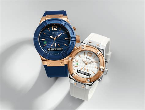 Smartwatch Guess Guess Connect Smartwatch Powered By Martian Debuts At Ces
