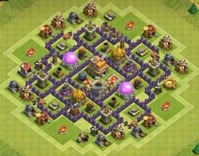 hd photos clash of clan townhall 7 top 8 best th7 trophy bases 2017 3 air defenses cocbases