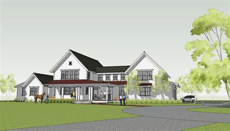 House Plans Farmhouse Style Simply Home Designs Modern Farmhouse By
