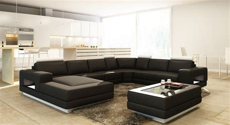 casa divano divani casa pella modern bonded leather sectional sofa