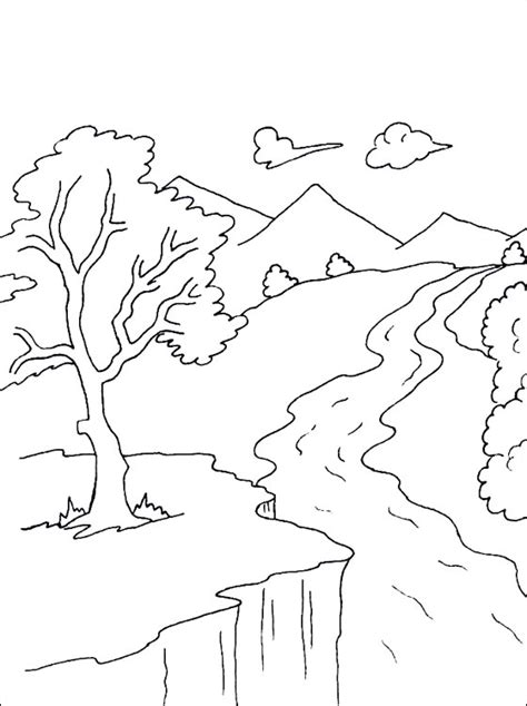 coloring page river river coloring page coloring pages coloring 3