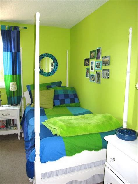 green and teal bedroom lime green bedroom house projects lime