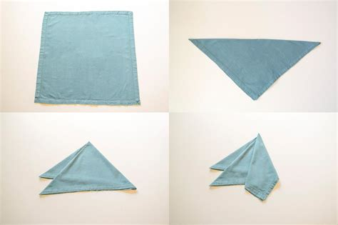 Simple Paper Napkin Folding - easy napkin folding ideas www imgkid the image kid