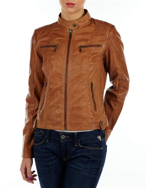 light leather jacket womens light brown leather jackets for women outdoor jacket
