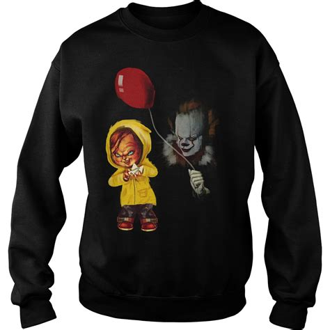 T Shirt Chucky mr meeseeks and stormtroopchucky and pennywise t