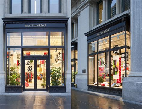 design stores in nyc marimekko flagship store by studios architecture new york