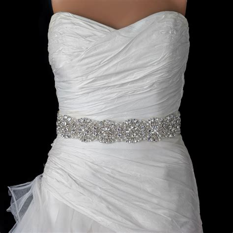beaded sash rhinestone beaded pearl bridal belt 314 sash