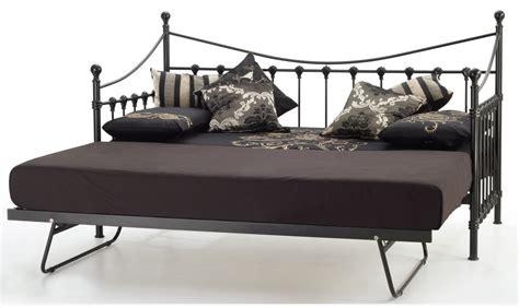 marseille bed frame buy serene marseilles 3ft single metal day bed frame
