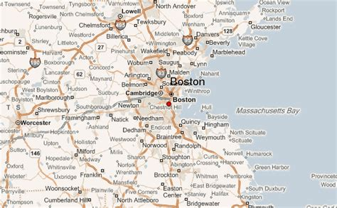 usa map with states and cities boston boston location guide