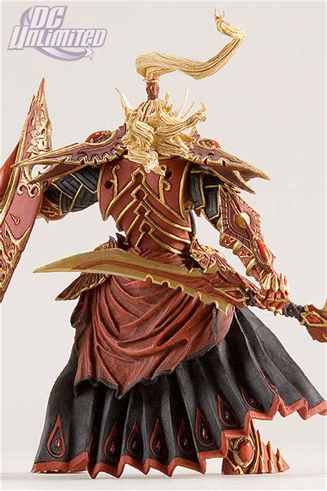World Of Warcraft Quinthalan Sunfire Dc Unlimited Blizzard Figurine World Of Warcraft Paladin Elfe De Sang Quin