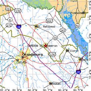 cameron south carolina sc population data races