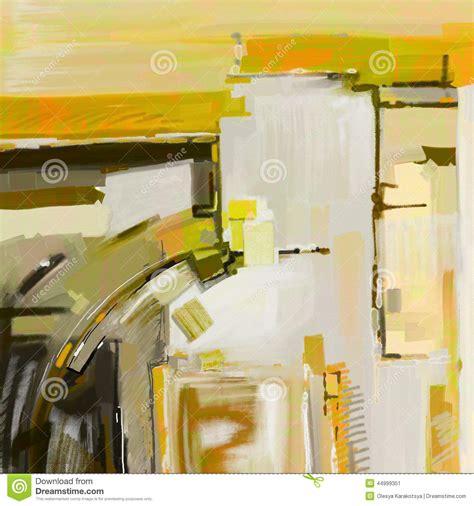 original abstract original digital abstract painting stock illustration