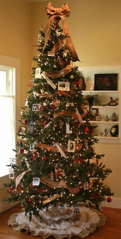 imagenes de adornos de arbol arbol de navidad decoracion preciosa con lazos