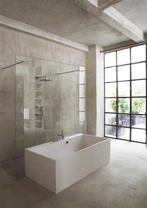 minimalistisches badezimmer mit ecken und kanten bathtub - Und Badezimmer