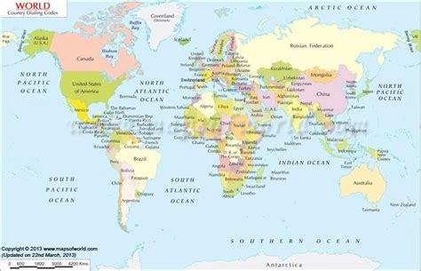 countries map world map country dialing jpg