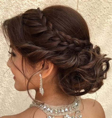 hair styles for back of 15 best collection of long curly quinceanera hairstyles