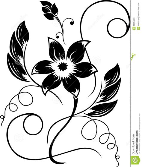 flower pattern black and white clipart black rose white flower clipart clipart suggest
