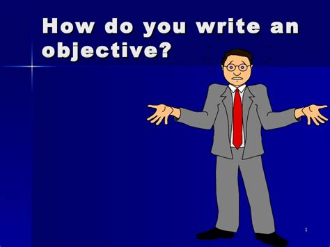 how do you write an objective on a resume writing lesson objectives