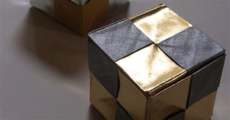 origami omnibus origami constructions dice cube box kunihiko kasahara