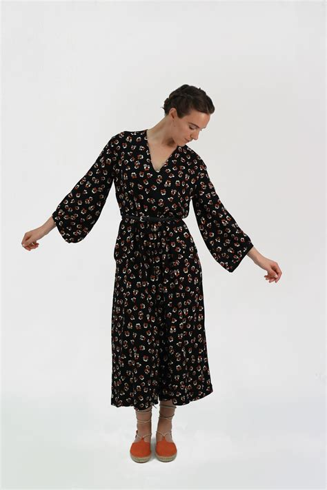 jumpsuit stitching pattern jazz ready to sew patron de couture de combinaison