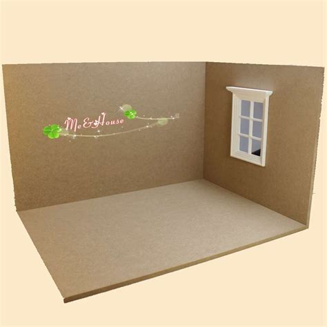 dollhouse room box 1 12 dollhouse miniature dollhouses grand room box kit by houseworks w window ebay