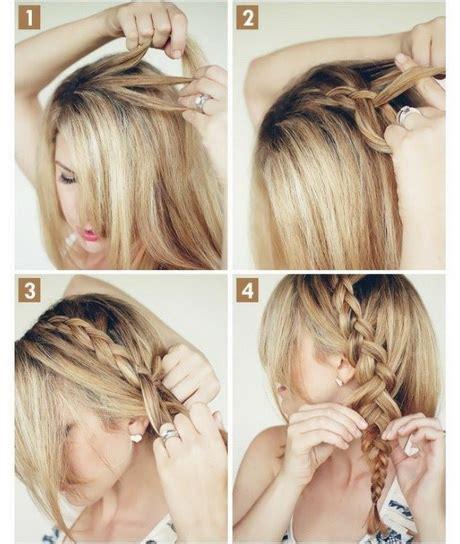 Frisuren Selber Machen Einfach by Einfache Hochsteckfrisuren F 252 R Mittellange Haare