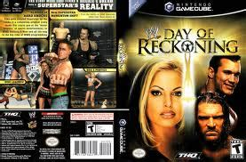 wwe day  reckoning iso