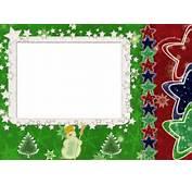 This Is The Elegant Border Stars Frame For Christmas Background Image