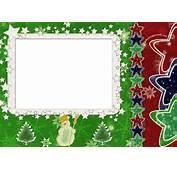 Free Elegant Border Stars Frame For Christmas Backgrounds