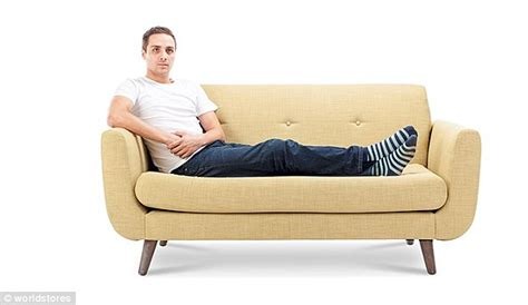people having on the couch what does your sofa sitting position say about your