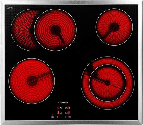 kochfeld ceran siemens elektro kochfeld schott ceran 174 et645hn17