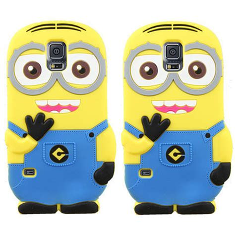 Minion Despicable Me Tpu Samsung Galaxy S5 Gray ᑎ coque funda for samsung galaxy galaxy j1 j3 j5 j7 2016 2016 s4 s5 mini note 3 4 5 7