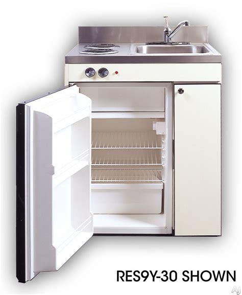 acme res compact kitchen with sink compact refrigerator