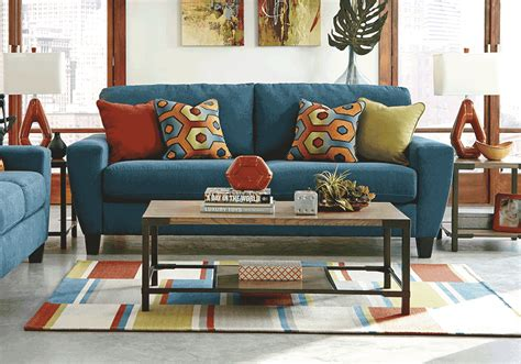 living room furniture louisville ky sagen teal sofa sleeper louisville overstock warehouse