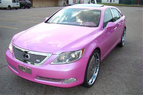 lexus pink pink lexus ls 460 front