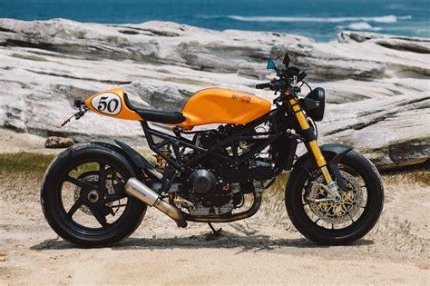 Shed Style by Clockwork Orange Paul S Ducati St2 Cafe Racer Throttle