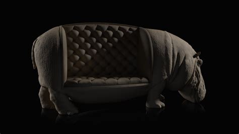 hippo chair m 225 ximo riera the hippo chair