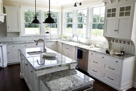White Cabinets For Kitchen Love This Kitchen For The Home Pinterest White
