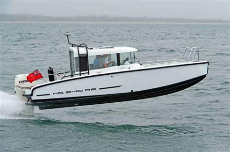 xo speedboot xo 240 rs cabin motor boat yachting